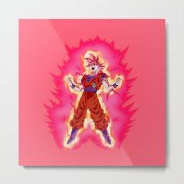 Amazing Super Saiyan Goku Cool Metal Print
