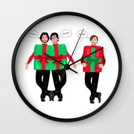 Murray Christmas Wall Clock