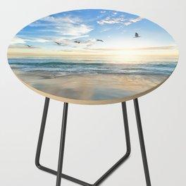 Beach Scene 34 Side Table