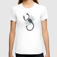 scorpio T-shirts featuring Scorpio by Vibeke Koehler