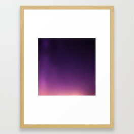 From Color to Infinity Framed Art Print
