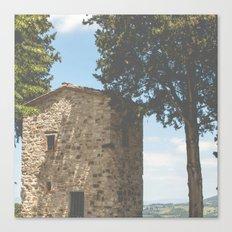 montefioralle, italy Canvas Print