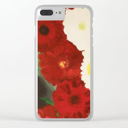 Sleeping In The Garden Clear iPhone Case