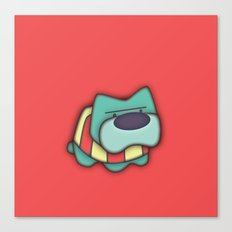 Sweater Dog Canvas Print