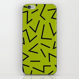 abstract zick zack iPhone Skin