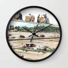 High Road Wall Clock