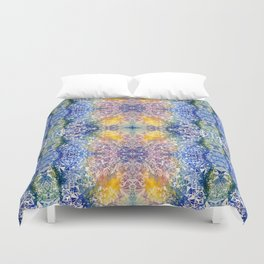 Colorful Crystal Duvet Cover