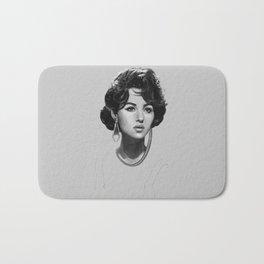 Monica Bellucci Bath Mat