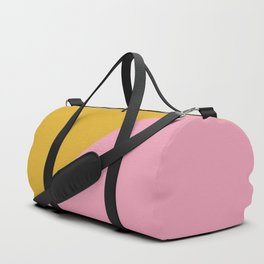 Ogre Yellow & Pink - oblique Duffle Bag