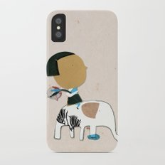 Time to go back Slim Case iPhone X