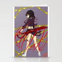 kill la kill Stationery Cards featuring Kill la Kill by Jojieon