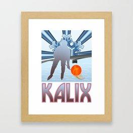 Kalix Winter Framed Art Print