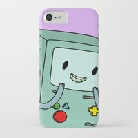 bmo iPhone & iPod Cases featuring BMO by Kyrsten Carlson