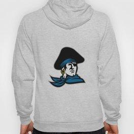 Pirate Tricorn Hat Neckerchief Retro Hoody