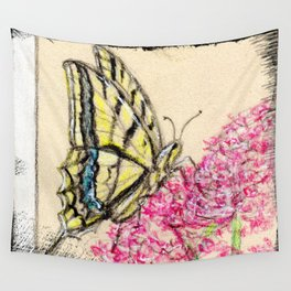 Collette's butterfly Wall Tapestry