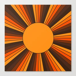 Golden Sunshine State Canvas Print