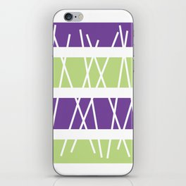 "Geometric Print ""Sticks"" iPhone Skin"