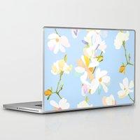 magnolia Laptop & iPad Skins featuring Magnolia by 301F