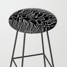 Joy Division - Unknown Pleasures Bar Stool