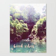 good vibes! - summer wanderlust - Canvas Print
