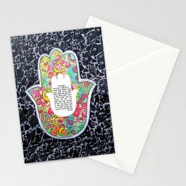 Hamsa art Stationery Cards
