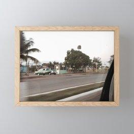 velocidad Framed Mini Art Print