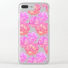 Rosette Succulents – Pink Palette Clear iPhone Case