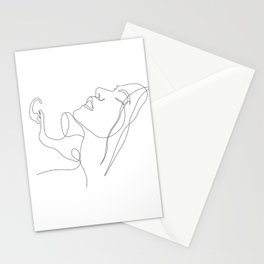 Lovers - Minimal Line Art 3 Stationery Cards