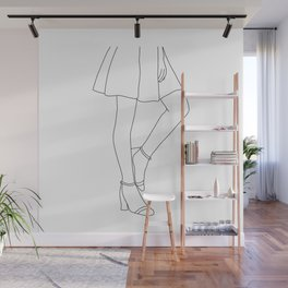 Body language Wall Mural