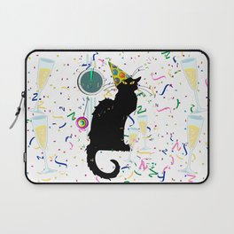 Chat Noir  Party Countdown Laptop Sleeve