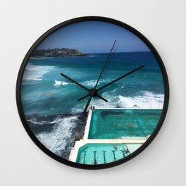 Bondi Icebergs, Sydney, Australia Wall Clock