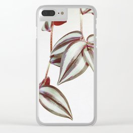 Trailing Leaves Clear iPhone Case