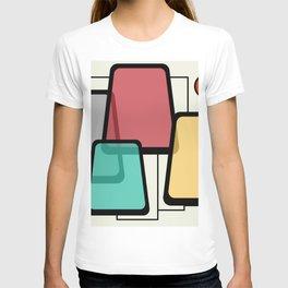 Mid-Century Modern Art Landscape 1.1 T-shirt