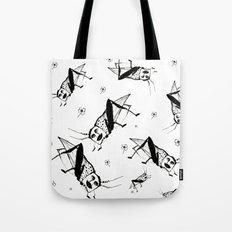 Man Hopper Tote Bag