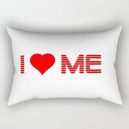 Valentine's - I Love Me (Heart) Rectangular Pillow
