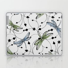 Dragonflies in the garden Laptop & iPad Skin