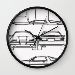 Supra Mk 3 Wall Clock