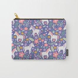Unicorn Garden - Iris Carry-All Pouch