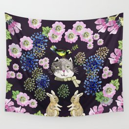 Cat Rabit Wall Tapestry