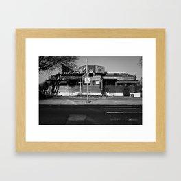 Bob's Diner Framed Art Print