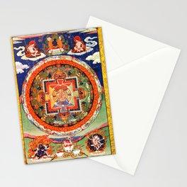 Mandala Buddhist 1 Stationery Cards
