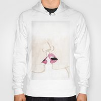 passion Hoodies featuring Passion by Christopher DeSapio