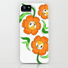 Cagney Carnation iPhone Case