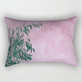 Pink Eucalypt Rectangular Pillow