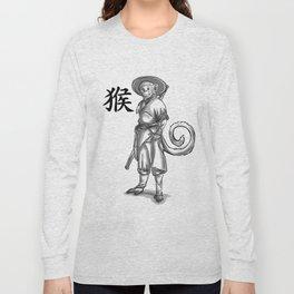 Chinese Zodiac Monkey Long Sleeve T-shirt