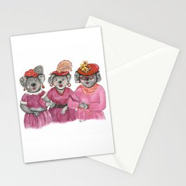 Red Hat Ladies off to Lunch Stationery Cards