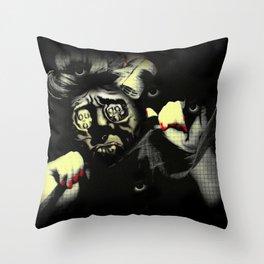 Self-portrait Throw Pillow