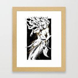 Shimmering Tendrils Framed Art Print