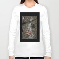 david olenick Long Sleeve T-shirts featuring david by Francesco Mestria