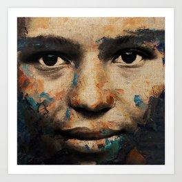 The Human Race 6 Art Print